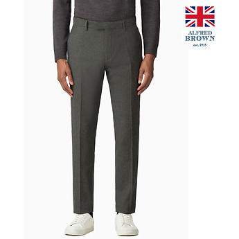 Image of Ben Sherman Australia  BRITISH DEEP SAGE DONEGAL TROUSER