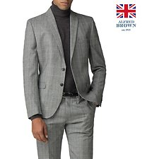 Image of Ben Sherman Australia  GREY POW MOD CHECK JACKET