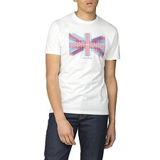 Image of Ben Sherman Australia  UNION LINES T-SHIRT