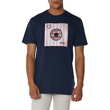 Image of Ben Sherman Australia DARK NAVY VINYL COVER T-SHIRT