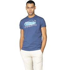 Image of Ben Sherman Australia DARK BLUE SPRINGS RESORT LOGO T-SHIRT