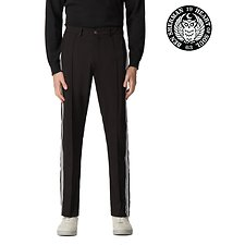 Image of Ben Sherman Australia BLACK BEN SHERMAN X LONDON RUNWAY TRACK PANT