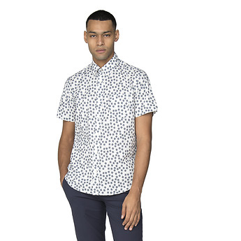 Image of Ben Sherman Australia  SCATTERED SCRATCH GEO SHIRT