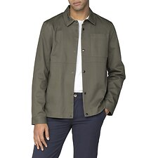 Image of Ben Sherman Australia KHAKI OVERSHIRT JACKET