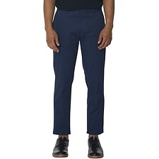 Image of Ben Sherman Australia MIDNIGHT PRINTED SLIM TROUSER
