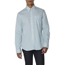 Image of Ben Sherman Australia SEA DUO TONE GEO SHIRT