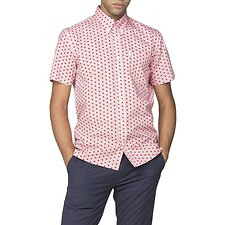 Image of Ben Sherman Australia RED ARCHIVE CONCORD SHIRT