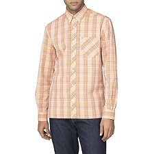 Image of Ben Sherman Australia ORANGE ARCHIVE CAMBRIDGE SHIRT