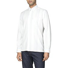 Image of Ben Sherman Australia PALE BLUE ARCHIVE HANOVER SHIRT