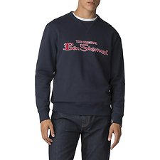 Image of Ben Sherman Australia NAVY LOGO SWEATER