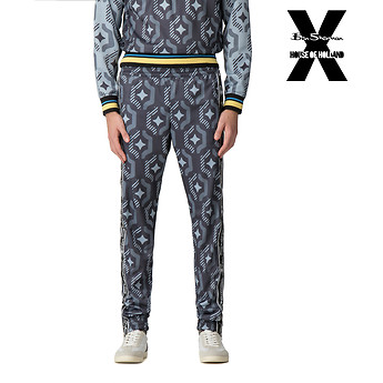Image of Ben Sherman Australia  HOUSE OF HOLLAND GEO WALLPAPER TRACK PANT