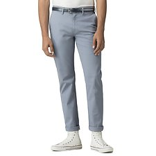 Image of Ben Sherman Australia DUSKY BLUE SLIM STRETCH CHINO