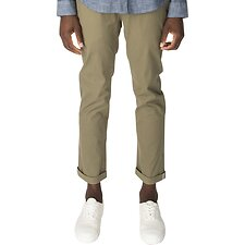 Image of Ben Sherman Australia OLIVE SLIM STRETCH CHINO