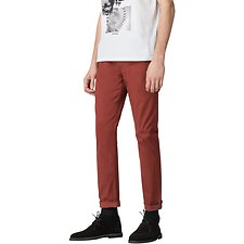 Image of Ben Sherman Australia RED DAHLIA SKINNY STRETCH EC1 CHINO