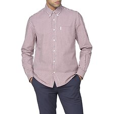 Image of Ben Sherman Australia WINE ARCHIVE MODERNIST SHIRT