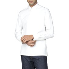 Image of Ben Sherman Australia WHITE ARCHIVE BENNY SHIRT
