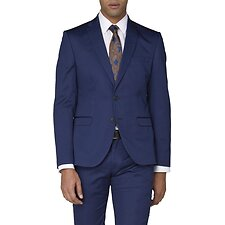 Image of Ben Sherman Australia ROYAL BLUE BLUE COTTON JACKET