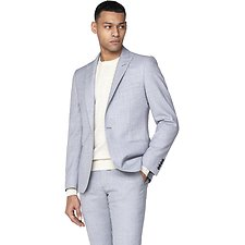 Image of Ben Sherman Australia GREY COOL TEXTURE JACKET