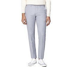 Image of Ben Sherman Australia GREY COOL TEXTURE TROUSER