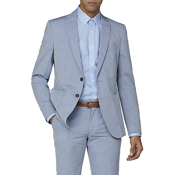 Image of Ben Sherman Australia  BLUE CHAMBRAY JACKET