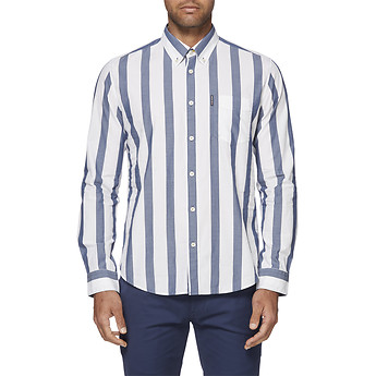 Image of Ben Sherman Australia  LARGE STRIPE MOD SHIRT