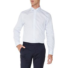 Image of Ben Sherman Australia LIGHT BLUE DASH GEO KINGS  SHIRT