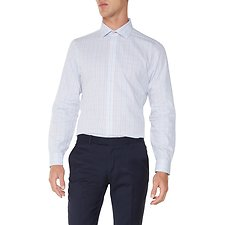 Image of Ben Sherman Australia BRIGHT BLUE MULTI CHECK KINGS  SHIRT