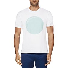 Image of Ben Sherman Australia BRIGHT WHITE BEN SHERMAN 1963 T-SHIRT