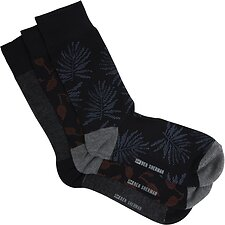 Image of Ben Sherman Australia  MASTER SMUDGE 3 PACK SOCKS