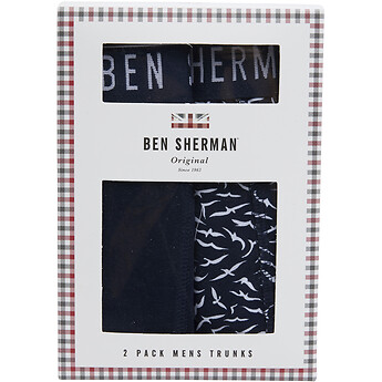 Image of Ben Sherman Australia  BLUNT 2 PACK TRUNKS