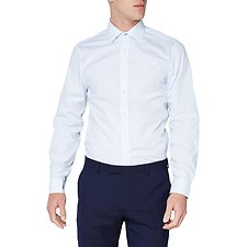 Image of Ben Sherman Australia LIGHT BLUE SPOT PRINT KINGS SHIRT