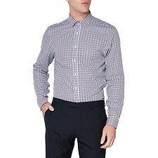 Image of Ben Sherman Australia PORT LS CAMDEN MOD GINGHAM SHIRT PORT