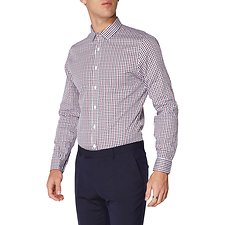 Image of Ben Sherman Australia PORT MOD GINGHAM CAMDEN SHIRT