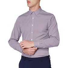 Image of Ben Sherman Australia PORT MICRO GINGHAM CAMDEN SHIRT