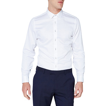 Image of Ben Sherman Australia  DIAMOND DOBBY CAMDEN SHIRT