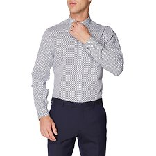 Image of Ben Sherman Australia  FORMAL CANE PRINT CAMDEN SHIRT