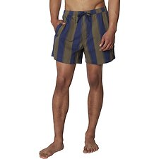 Image of Ben Sherman Australia KHAKI GRAPHIC STRIPE SHORT