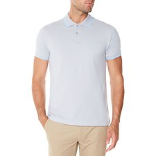Picture of Basic Script Polo With Tipping