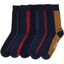 Image of Ben Sherman Australia MULTI HERRING GULL 5PK GIFT BOX SOCKS