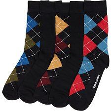 Image of Ben Sherman Australia MULTI GAROUPE 5PK GIFT BOX SOCKS