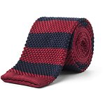 Image of Ben Sherman Knitted Candy Stripe Tie