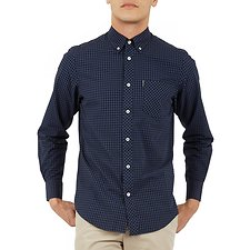 Image of Ben Sherman Australia PHANTOM GINGHAM SHIRT