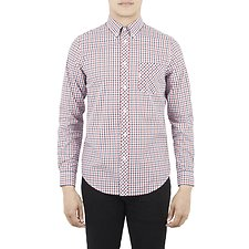 Image of Ben Sherman Australia BLUE DEPTHS HOUSE CHECK SHIRT