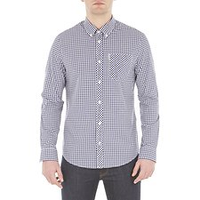 Image of Ben Sherman Australia BLUE DEPTHS GINGHAM SHIRT