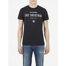 Image of Ben Sherman Australia TRUE BLACK THE ORIGINAL PRINT TEE