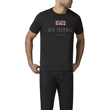 Image of Ben Sherman Australia TRUE BLACK THE ORIGINAL T-SHIRT