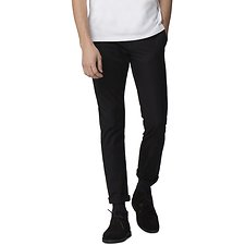 Image of Ben Sherman Australia TRUE BLACK SLIM STRETCH CHINO