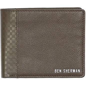 Image of Ben Sherman Australia  GINGHAM EMBOBILLFOLD WALLET