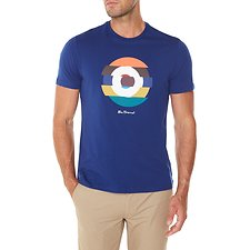 Picture of Short Sleeve Crew Tee With Target