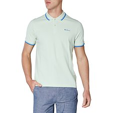 Image of Ben Sherman Australia MARGARITA SCRIPT POLO WITH TIPPING